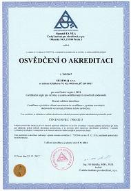 výrobky a systém certifikovaných dodavatelů